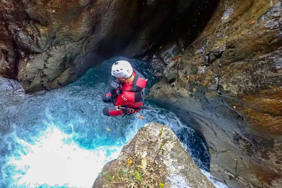 Canyon des Oulles du Diable – Hautes-Alpes
