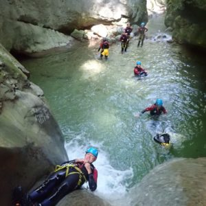 team-building-canyoning-isere